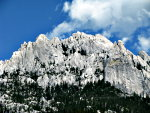 Beautiful outdoor photograph of Castle Crags in Northern California.