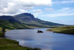 Loch Fada, Isle of Skye, United Kingdom.  Tour the UK.