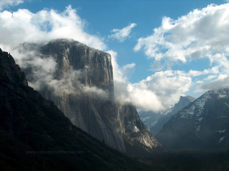 El Capitan in Yosemite National Park