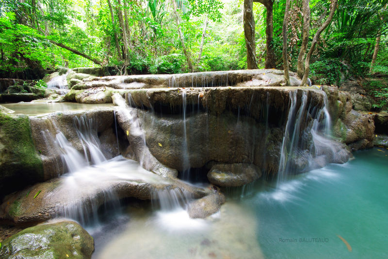 Erawan Waterfalls, Erawan National Park, Kanchanaburi ...
