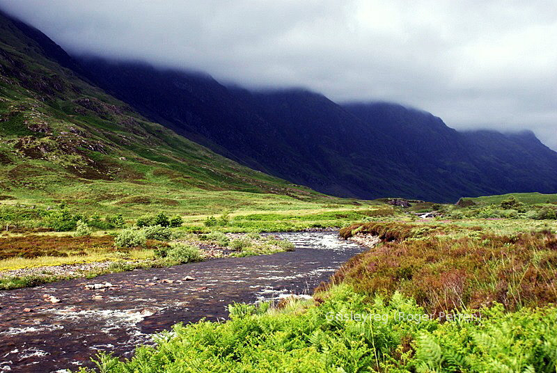 creek in Glen Coe, Scotland