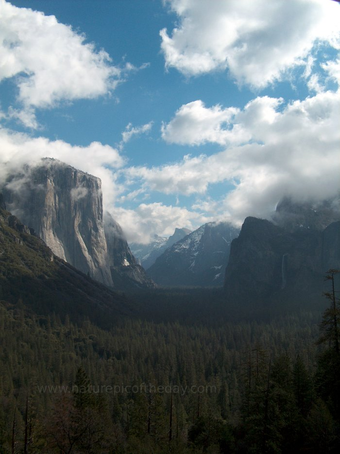Yosemite Valley, Yosemite National Park.