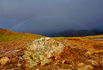 Rainbow at Independence Pass, Colorado