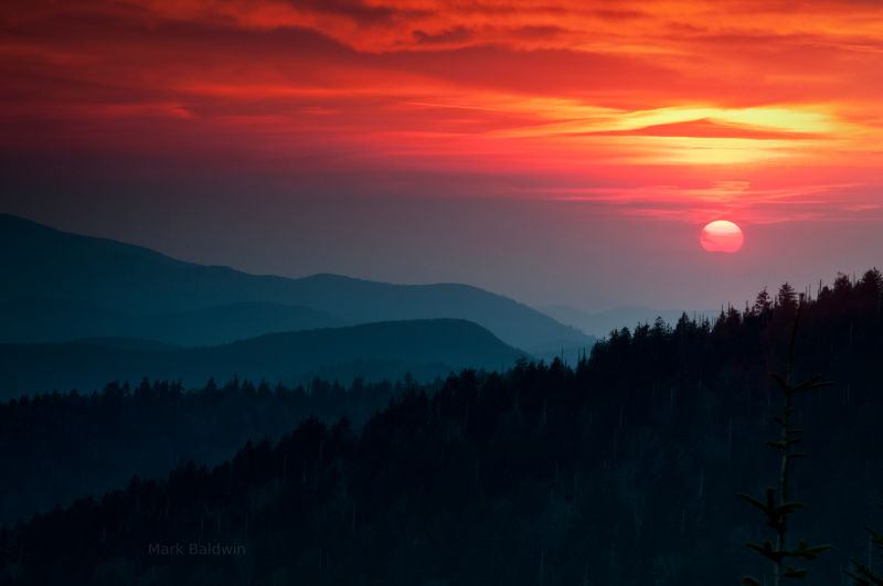 Clingmans Dome, Great Smoky Mountains National Park