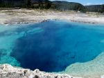 Natural Hot pool in Yellowstone National Park