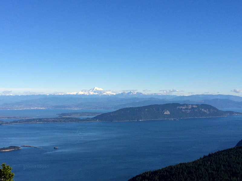 Mount Baker From Orcas Island
