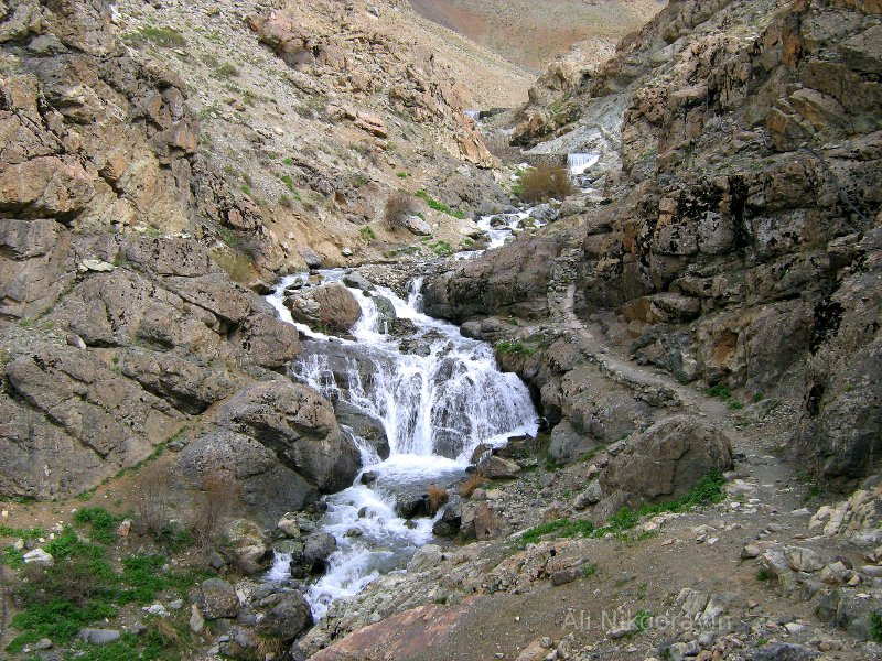 Hike in the Alborz Mountains, Iran