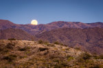 Gorgeous Moonrise in the Arizona desert