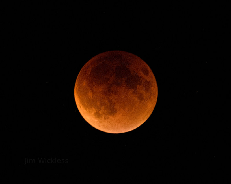 Super Moon Total Eclipse