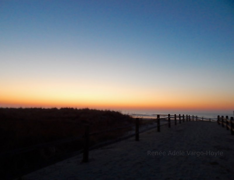 Sunrise over Avalon, NJ
