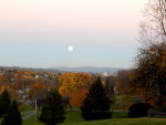 Nazareth, PA Super Moon