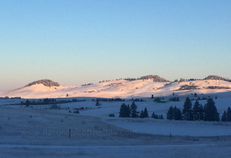Winterscape in Idaho and Washington