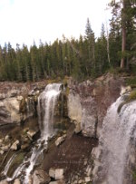 Waterfalls at Newberry Volcanic National Monument
