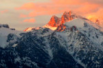 Grand Tetons at Sunset