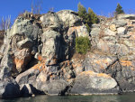 Rock Cliff on Lake Superior
