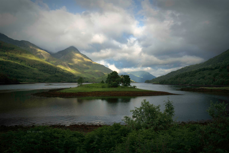 Beautiful Scottish Lake