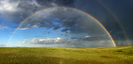 Rainbow in Eastern Montana