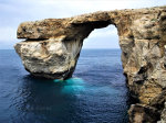 Azure Window still standing in Malta