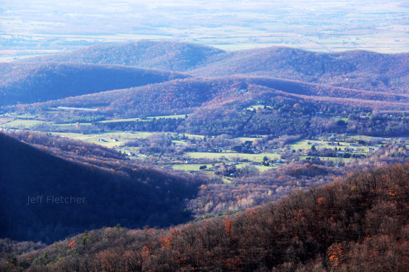 Beautiful shot in Shenandoah National Park