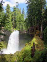 Sahalie Falls in Oregon