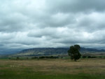 Grasslands, Storm Clouds, Butte in Montana