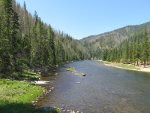 Selway River in Idaho