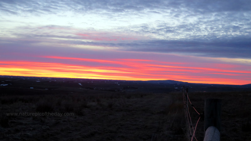 Evening Sunset over the Palouse