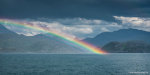 Rainbow in Loch Nevis, Scotland